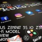 ASUS ZenPad 3s 10 Z500M-SL32S4の3カ月使用感。