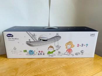 BenQデスクライトの箱の正面の画像
