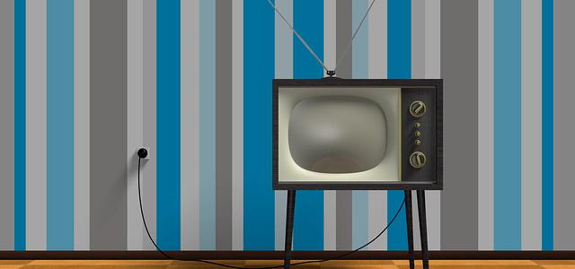 アナログテレビの画像