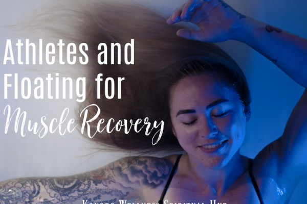 Athletes and floating for muscle recovery