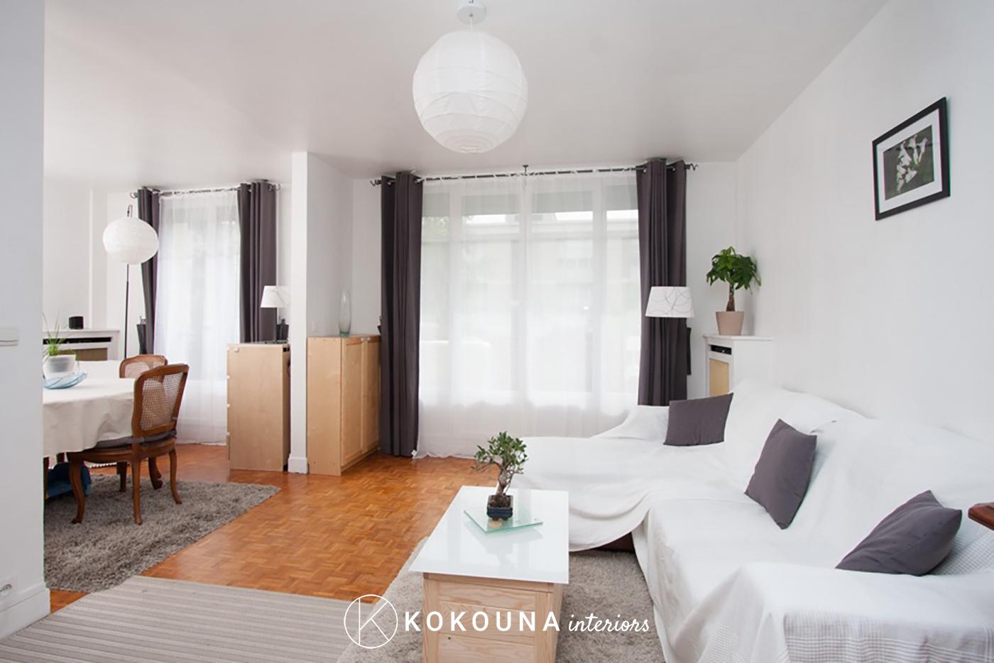 home staging salon kokouna. Black Bedroom Furniture Sets. Home Design Ideas