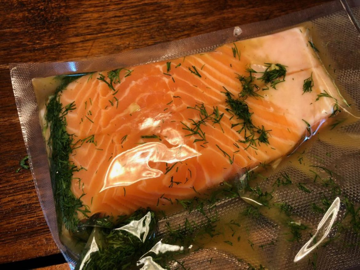 zalm met dille