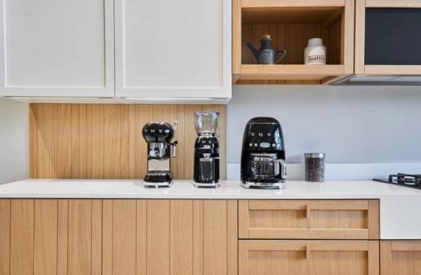 Smeg espressomachine