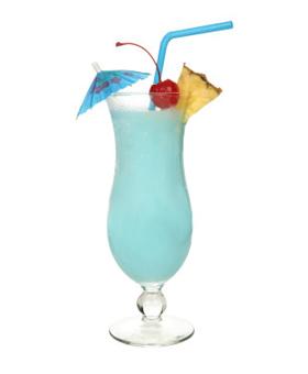 Blue Hawaiian kokteilis