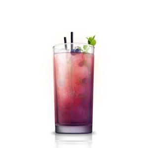 Mėlyniu Mojito kokteilis