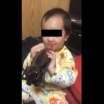 【炎上】3歳児にコーラを飲ませている動画に批判殺到 投稿者「しょっちゅう飲ませてるわけではない」