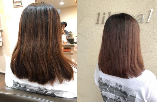 艶髪オーダーメイドトリートメントで髪質改善でダメージした髪を綺麗に【箕面 大阪】