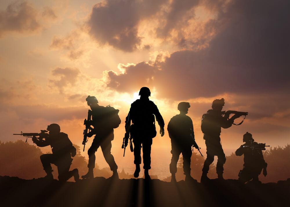 重国籍者の兵役の様子