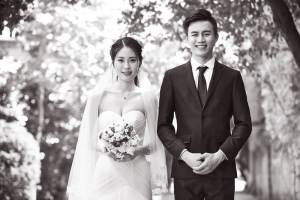国際結婚を反対していた両親を説得し、最終的に祝福された結婚式の写真