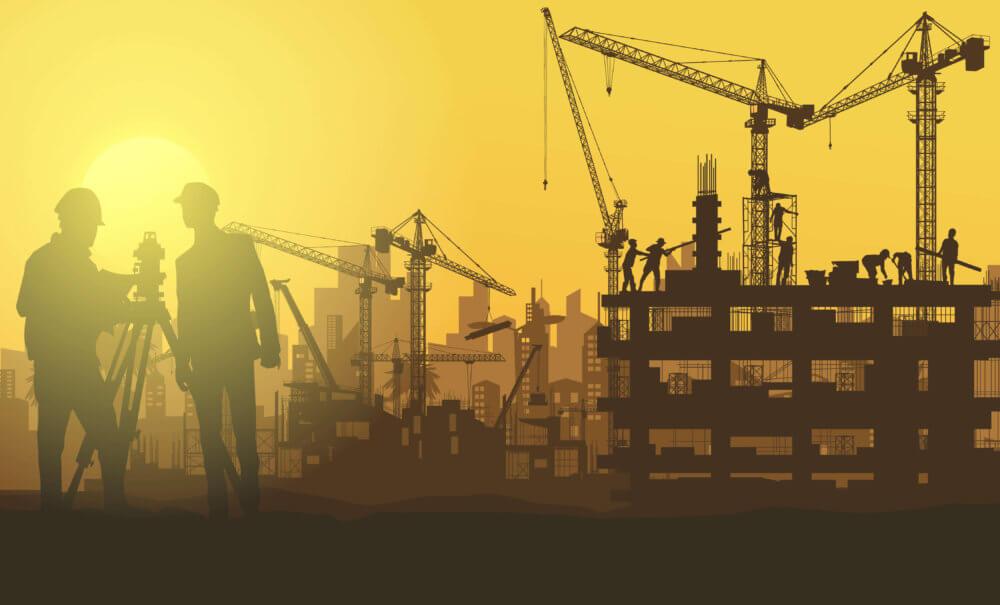 外国人労働者が経済発展を支えているイメージ