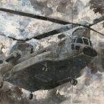 <Flying Ⅳ> 176×200cm
