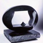 123×137×100cm 黒御影石