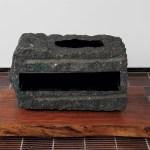 40×70×42cm 黒御影石