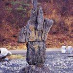 350×120×120cm 安山岩