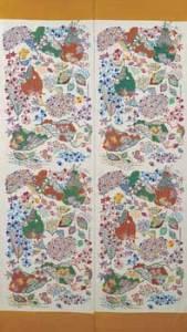 立花長子 壁掛「秋・ほうとくさき」