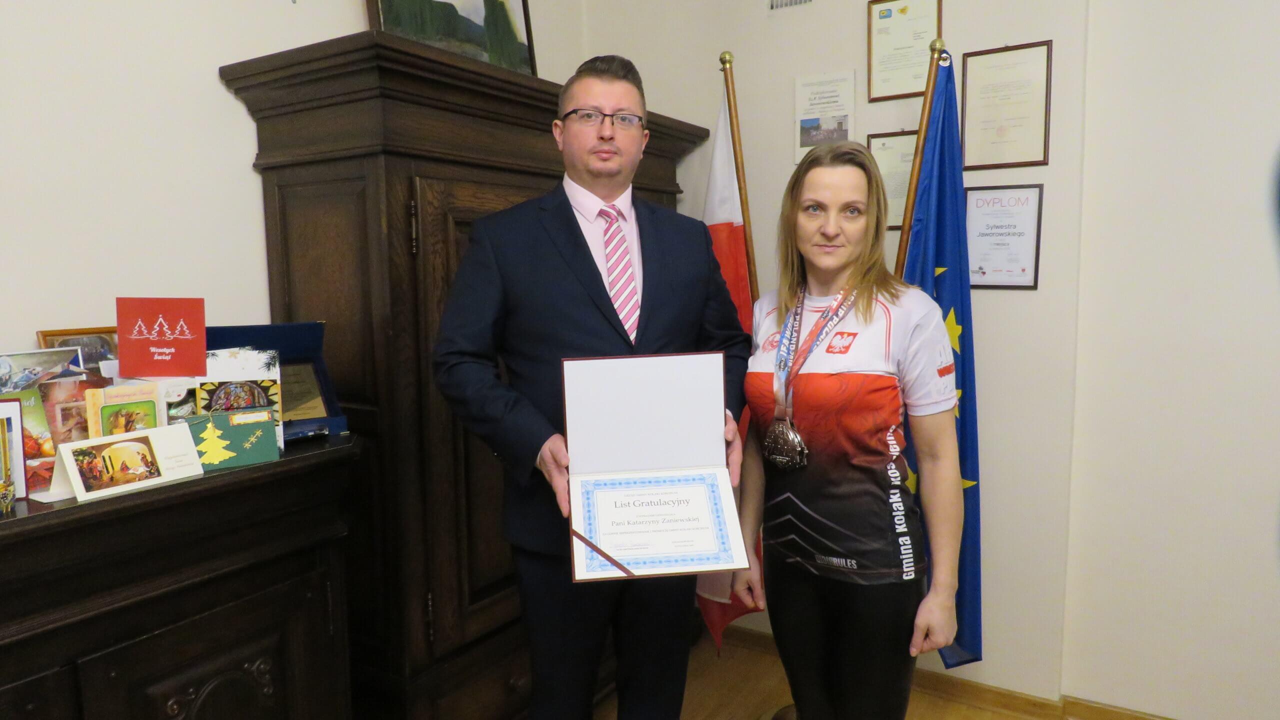 Kolejne sukcesy sportowe Katarzyny Zaniewskiej z Kołak Kościelnych