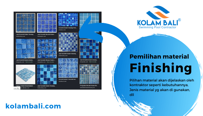 Material Finishing kolam renang