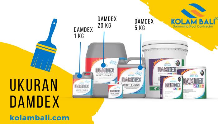 Damdex Pengeras Beton Obat Cor Anti Bocor Waterprofing Multi Fungsi