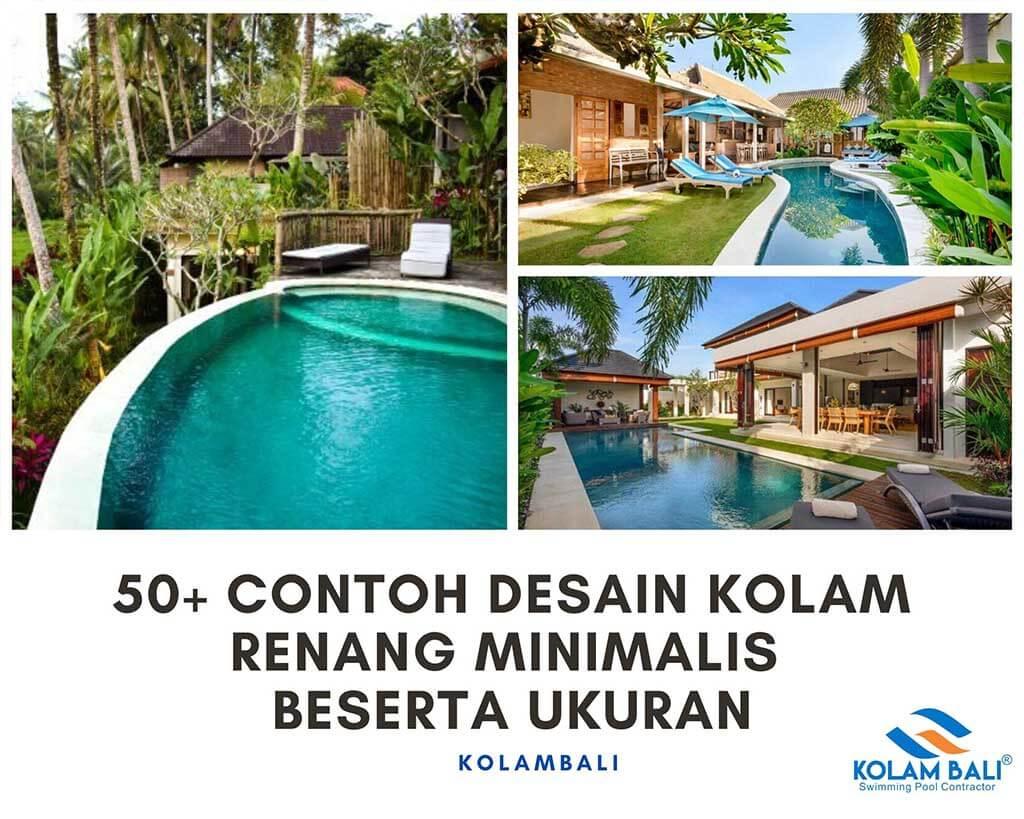 50+ contoh Desain kolam renang minimalis beserta ukuran