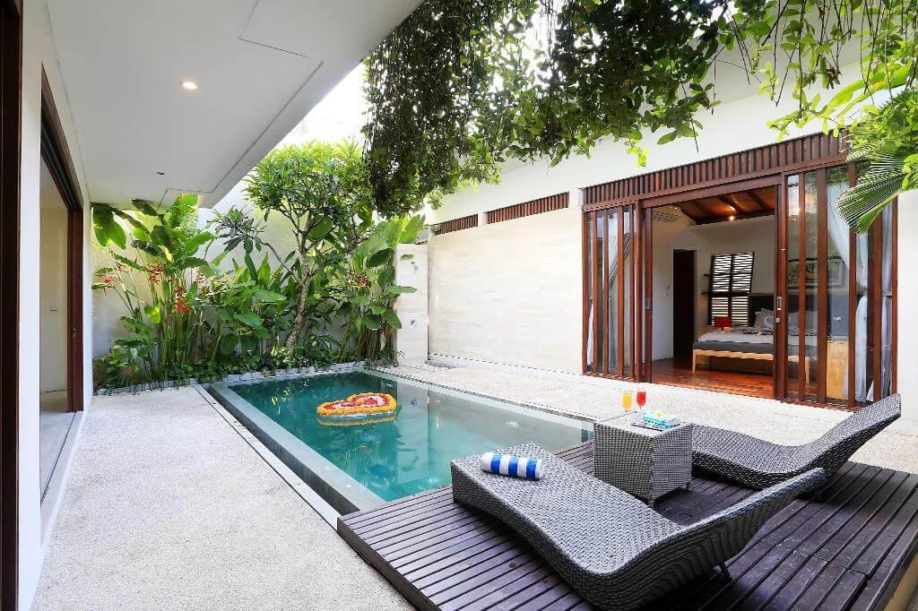 Inspirasi kolam renang minimalis