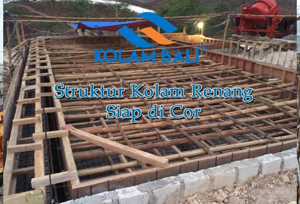 Struktur-Kolam-Renang siap-di-Cor