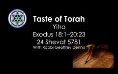 Taste of Torah - Yitro