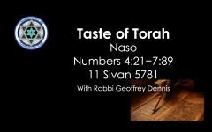 Taste of Torah - Naso