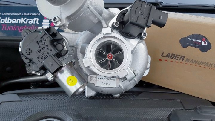 LM440 IS20 Turbo VW Golf GTI 7 MK7 MK7.5 VII Upgradelader Turbocharger KolbenKraft Upgrade hybrid202008 - KolbenKraft