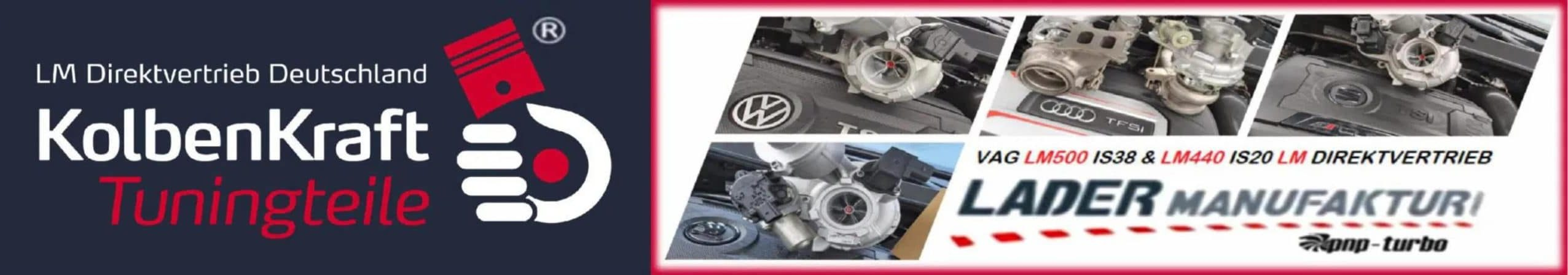 KolbenKraft Tuning | LM500 IS38 LM440 LM575 Upgrade Turbolader | VW Golf 7R GTI MK 7 VII