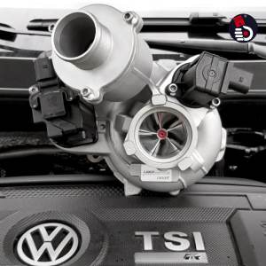 LM500 TRACK IS38 Upgrade Turbolader Upgradelader Turbo 1.8 - 2.0 TSI EA888 Gen.3 Hybrid Turbocharger KolbenKraft Tuning VW Golf 7 R VII R MK7 Seat Leon Cupra III 5F 300 MK3