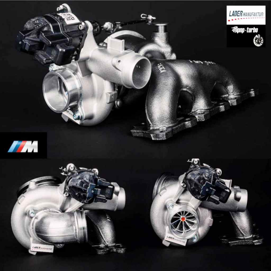 BMW S55B30 Upgrade Turbolader LM820 M3 F80 M4 F82 CS Competition M2 F87 Coupe Upgradelader