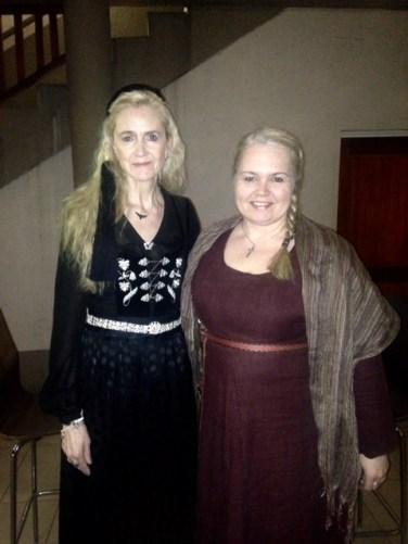 2015-16 Kolbrún og Erna í Johannesarborg