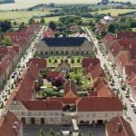 Town from above – Photo Christiansfeld Centret