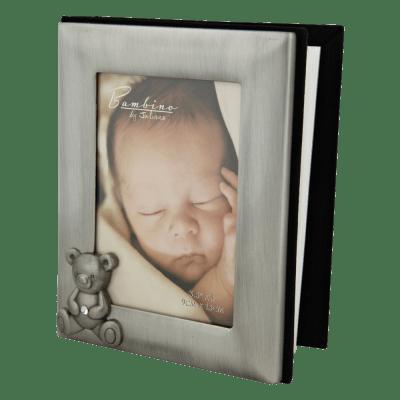 "Flot fortinnet fotoalbum Bambino fra Nordahl Andersen ""Noa Kids Barnedåb"" (157-76633) | Koldsø Fotografi Webshop"