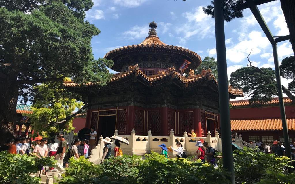 Chińskie ogrody i zabytki