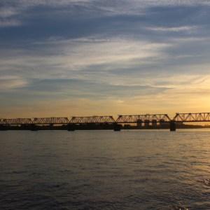 Most na rzece Ob