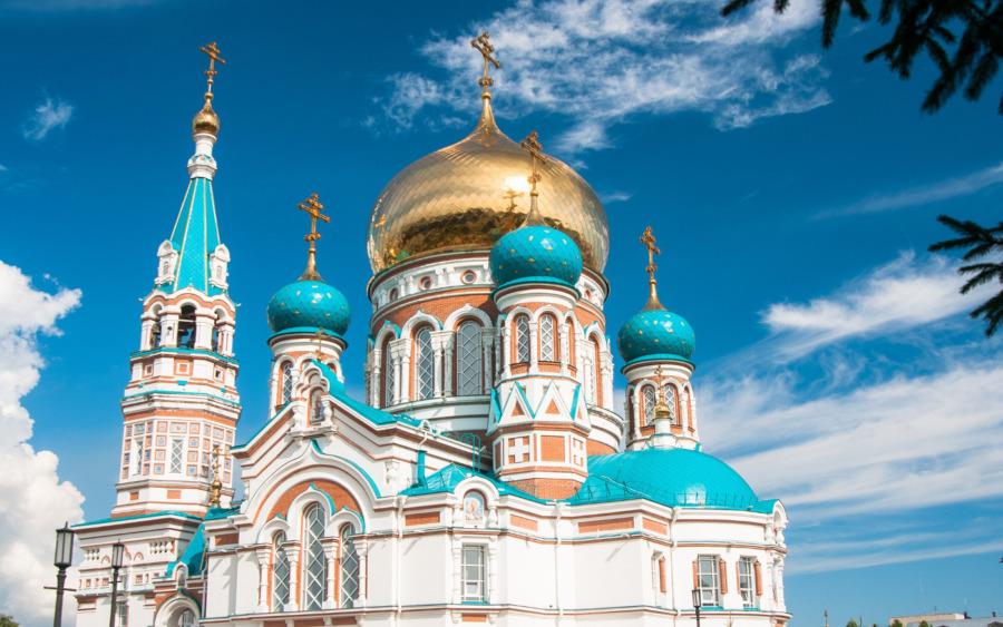 Sobór Zaśnięcia Matki Bożej w Omsku