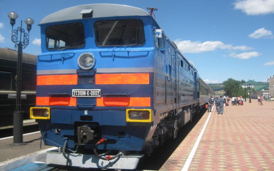 Pociąg transsyberyjski