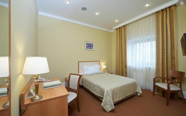 Pokój dwuosobowy w hotelu Soft w Krasnojarsku