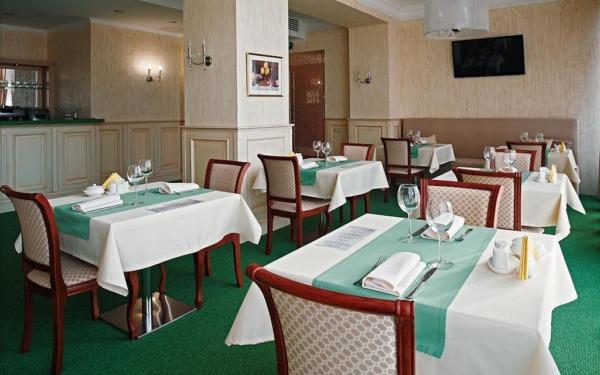 Restauracja w hotelu Soft w Krasnojarsku