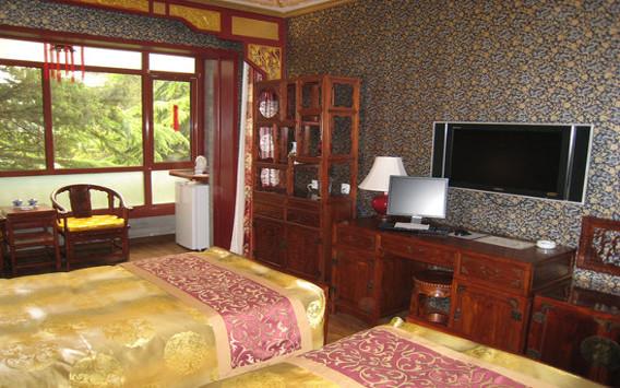 Pekin, hotel Bamboo Garden, pokój dwuosobowy