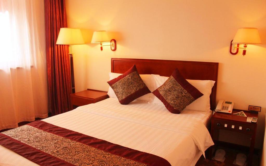 Pokój dwuosobowy w hotelu Parkview w Pekinie