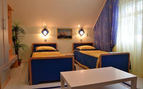 Sewierobajkalsk, hotel Zolotaja Rybka - pokój dwuosobowy
