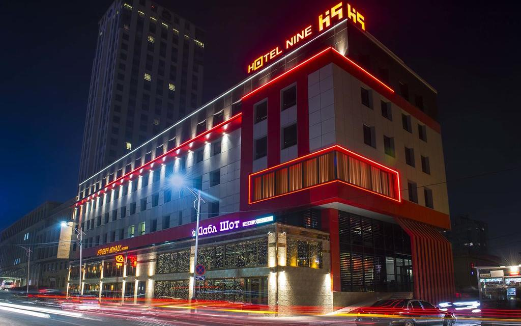Ułan Bator, hotel Nine