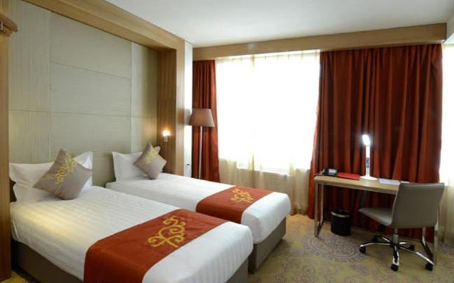 Ułan Bator, hotel Nine - pokój dwuosobowy