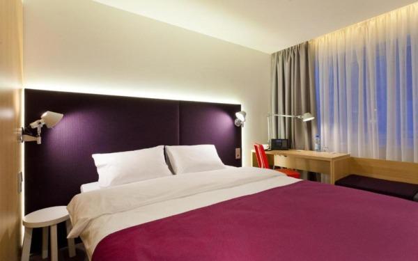 Pokój dwuosobowy w hotelu Azimut we Władywostoku