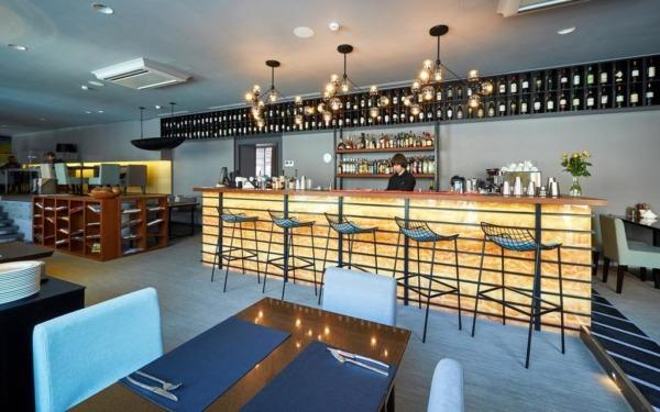 Restauracja w hotelu Primorye we Władywostoku