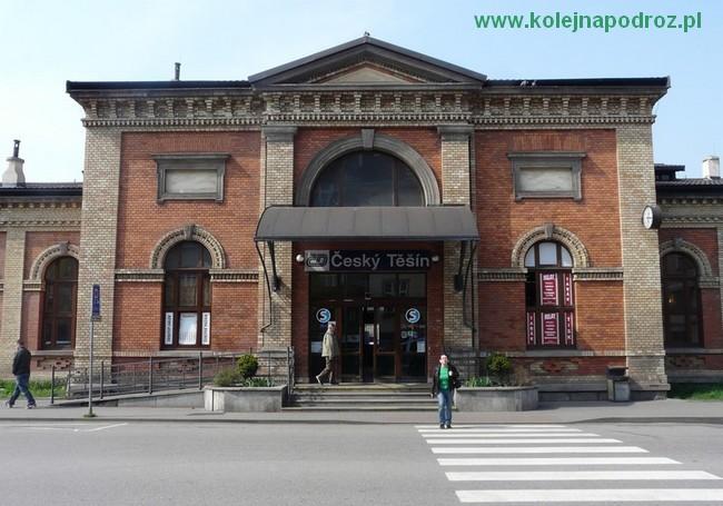 Dworzec w Czeskim Cieszynie