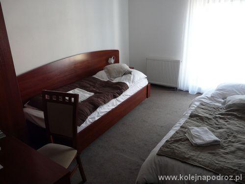 """Hotel """"Centrum"""" w Czadcy - pokój"""