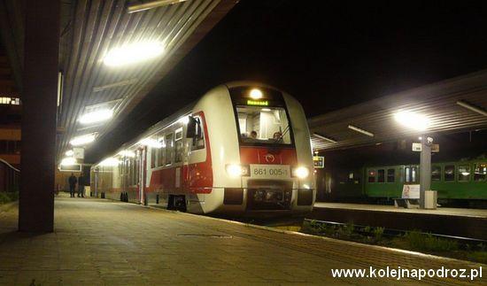 Słowacja pociąg w Koszycach